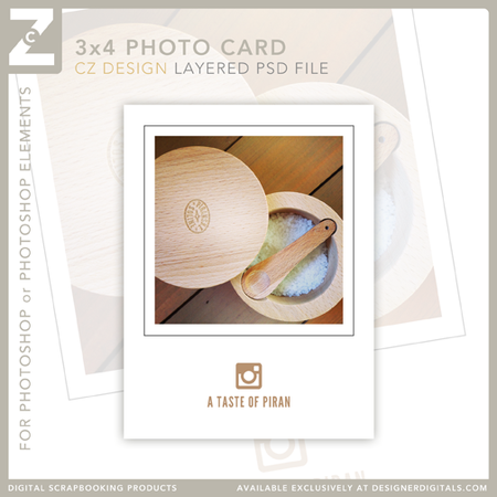 Free Instagram 3x4 Layered Template from Cathy Zielske