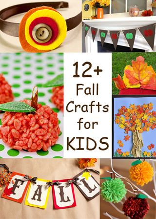 Fall Kid Craft Round Up
