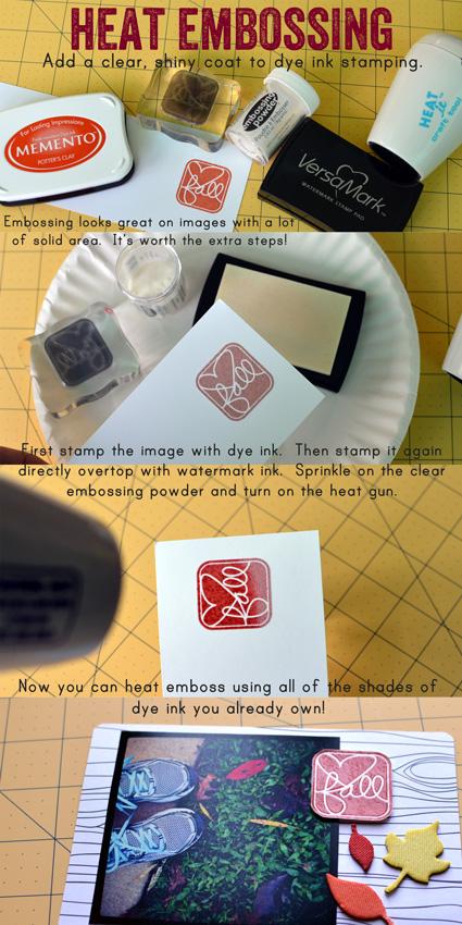 Stampweekheatembossing