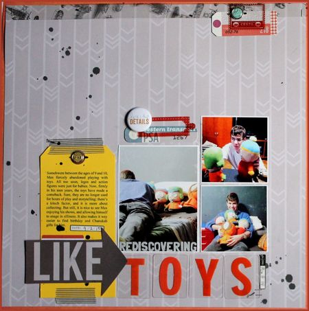 Rediscovering toys