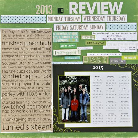 Year in review amy sorensen