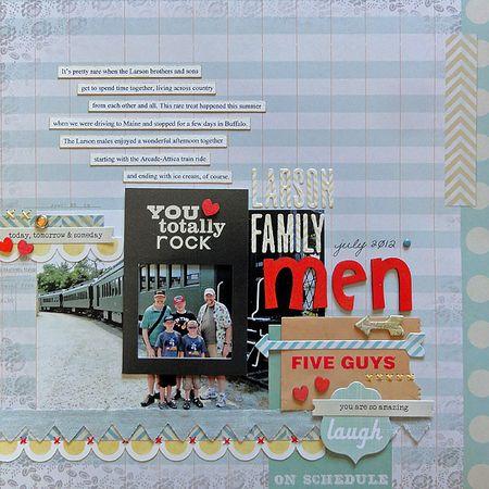 Larson Family Men