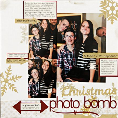 A sorensen christmas photo bomb