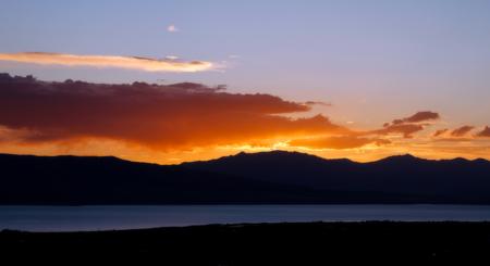 A sorensen background photo sunset
