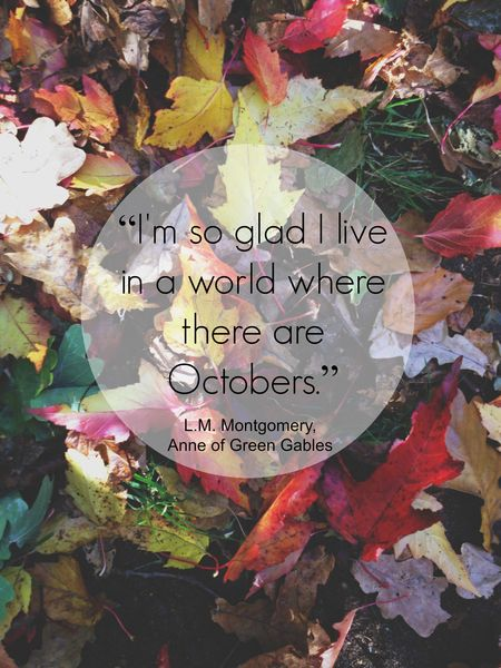 In a world of octobers