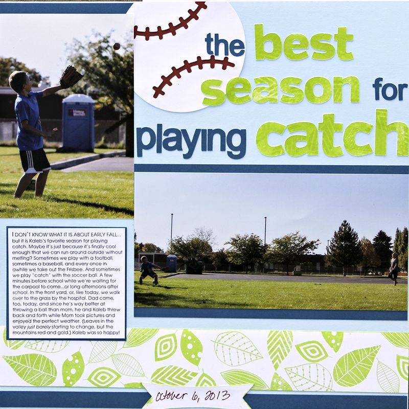 Best season for playing catch amy sorensen