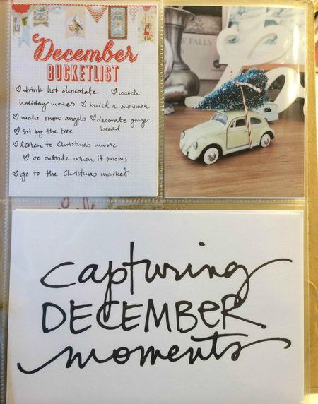 Decemberbucketlist