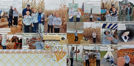 Sever's Corn Maze by Jennifer Larson