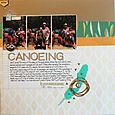 """Go Canoeing</br><span style=""""font-size: 8pt;"""">by</span> Aliza"""