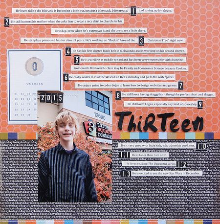 Thirteen by Jennifer Larson