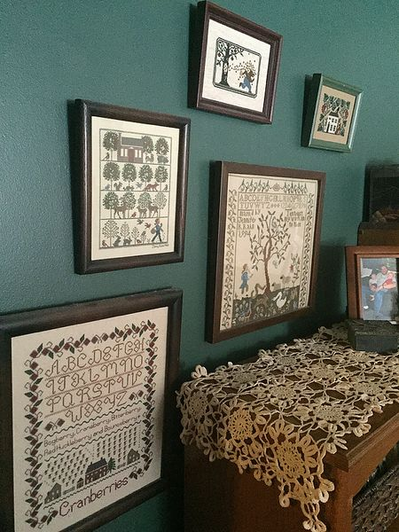 Cross stitch home 1