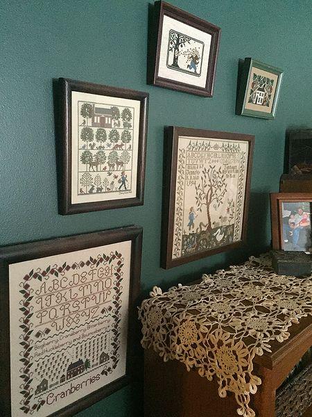 Cross stitch home 1