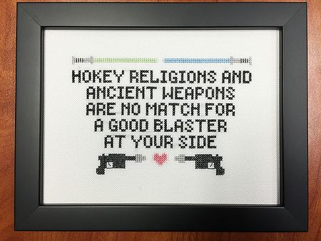 Cross stitch geek