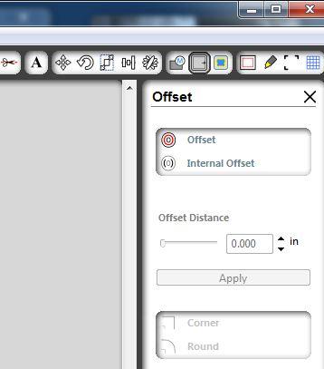 Offset step 03 offset button