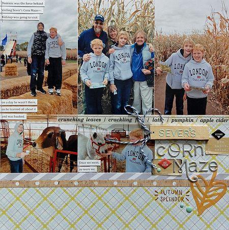 Sever's Corn Maze page 1