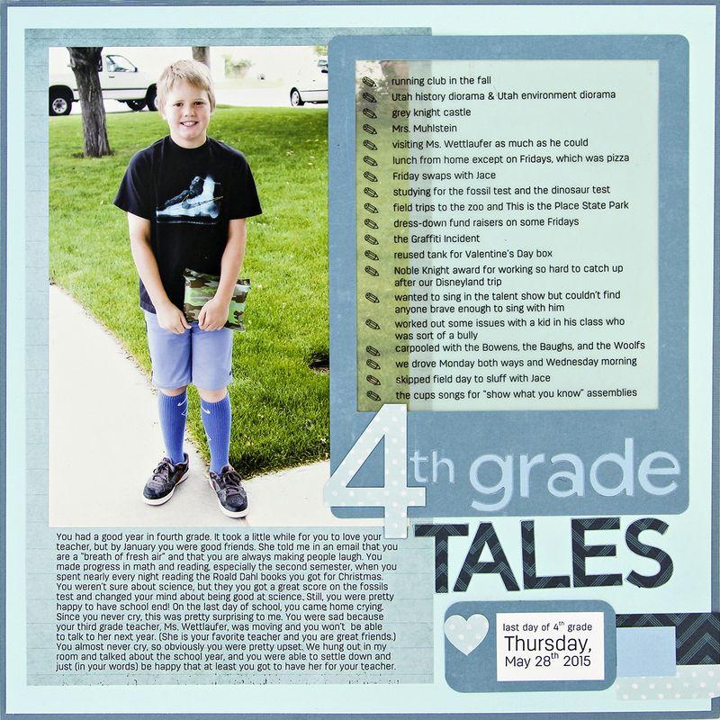Amy sorensen 4th grade summary