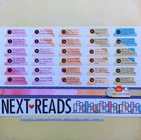 Next Reads by Jennifer Larson SBC