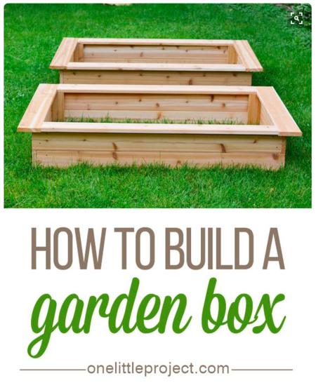 Spring gardening idea