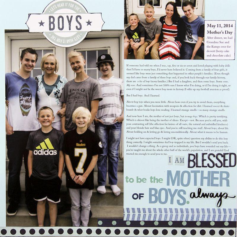 A sorensen mother of boys