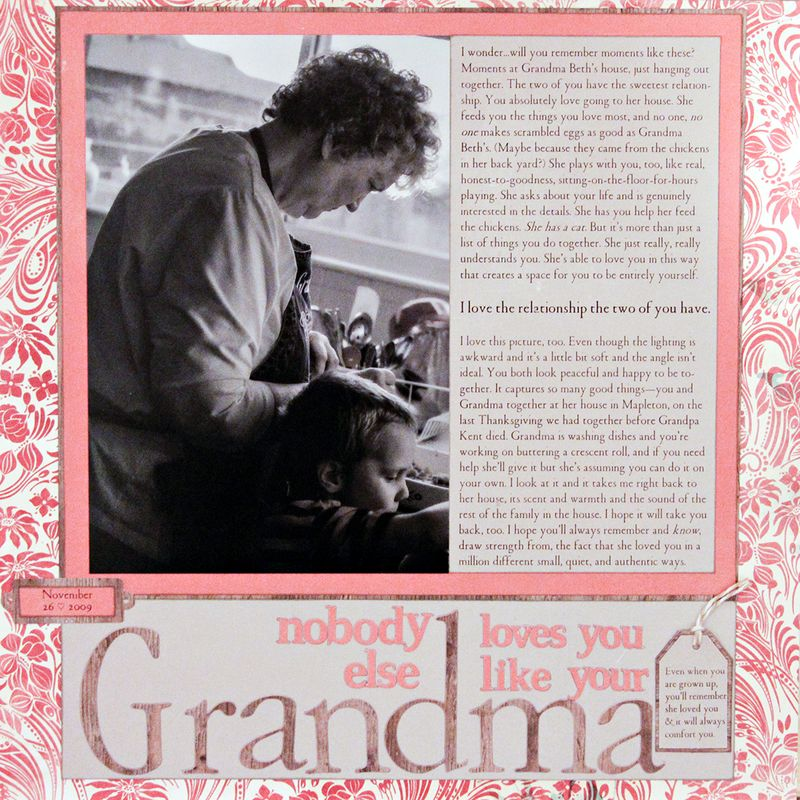 Grandma loves you Amy Sorensen