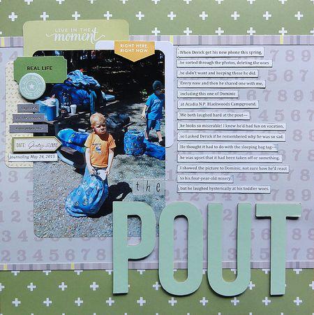 The Pout by Jennifer Larson