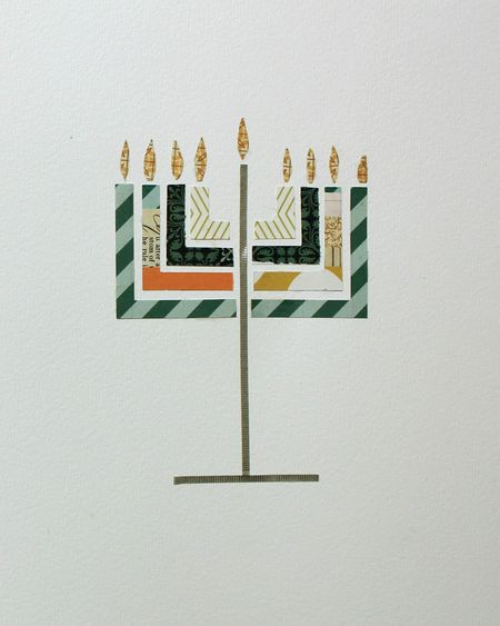 Menorah decor