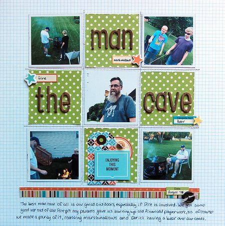 The Man Cave by Jennifer Larson