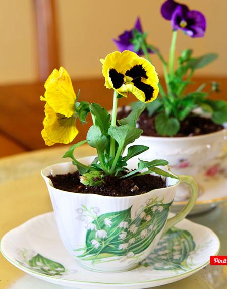 Spring decorating idea