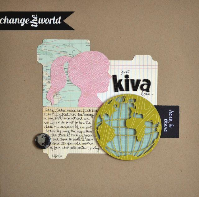 First Kiva Loan | Vivian Masket