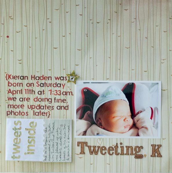 Tweeting K | Francine Clouden