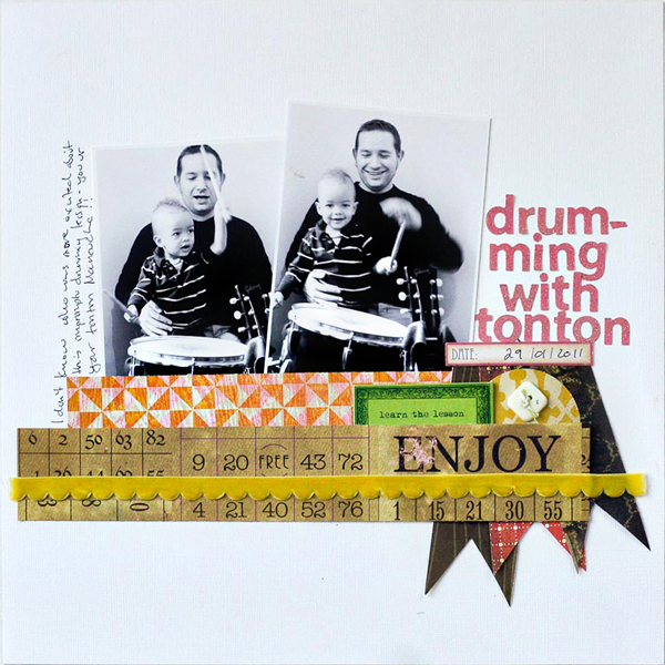 Drumming With Tonton | Francine Clouden