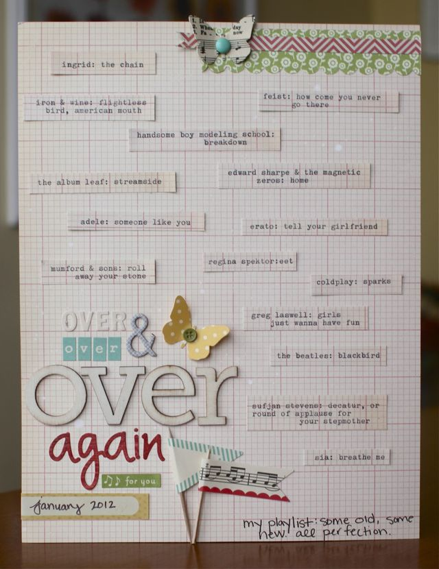 Over & Over & Over Again | Emily Spahn