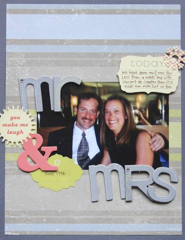 Mr & Mrs Wright   Monika Wright