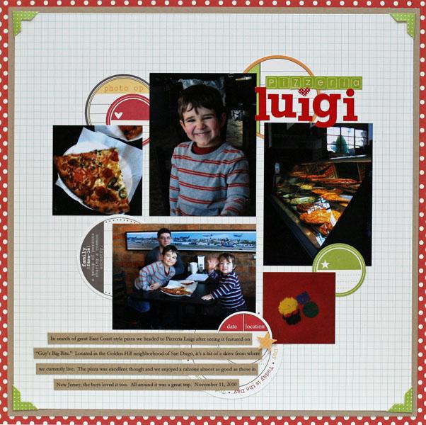 Pizzeria Luigi | Donna Jannuzzi