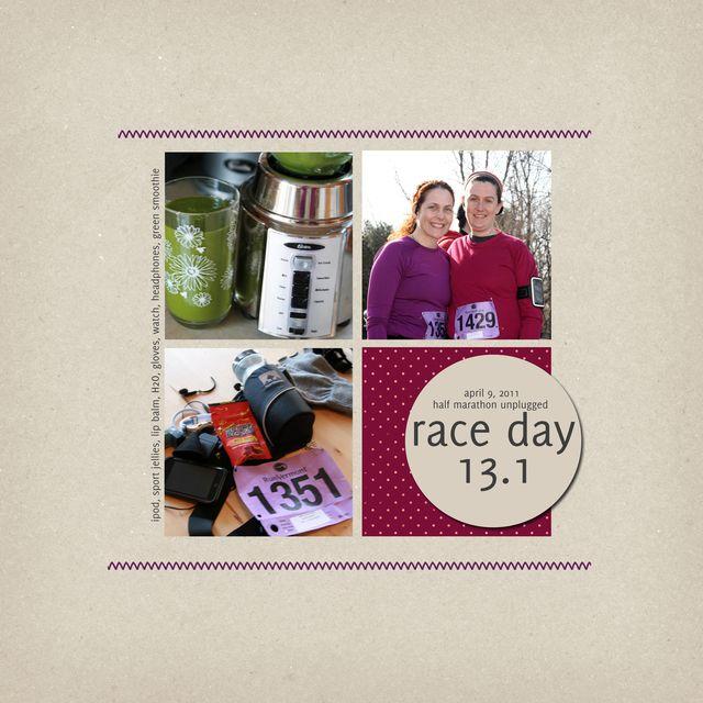 Race Day   Katrina Simeck