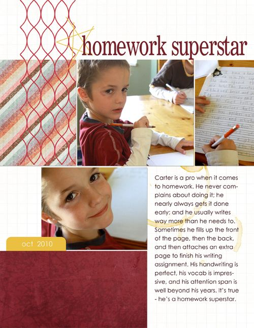 Homework Superstar | Autumn Baldwin