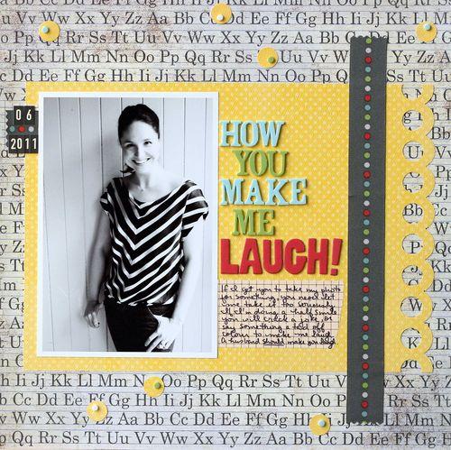 How You Make Me Laugh   Lisa Kisch