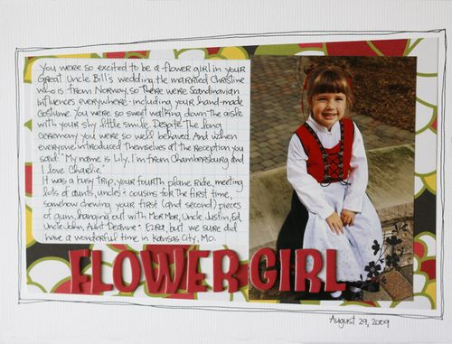 Flowergirl | Marie Taylor