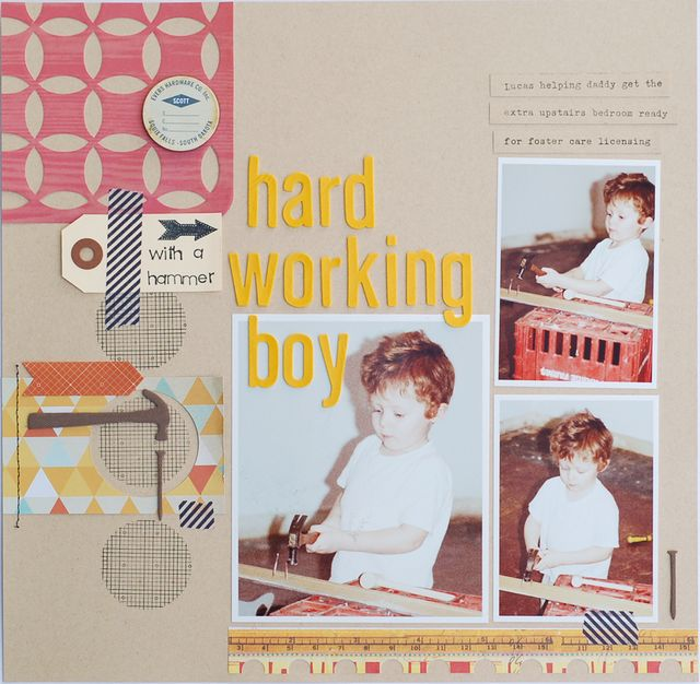 Hard Working Boy | Valerie O'Neall