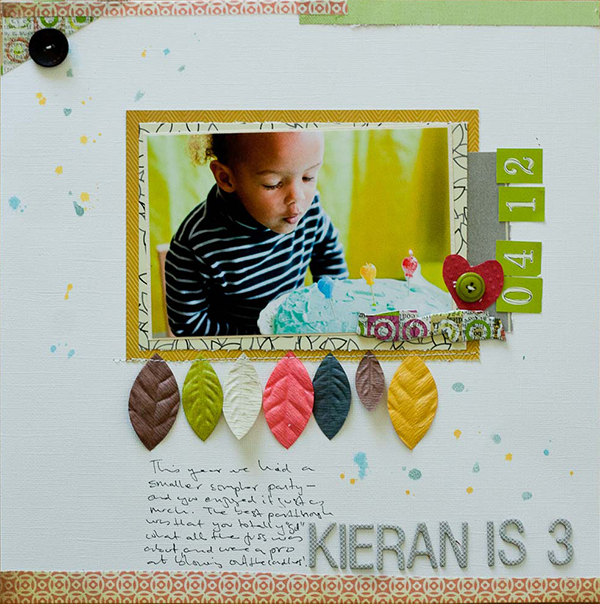 Kieran Is 3 | Francine Clouden