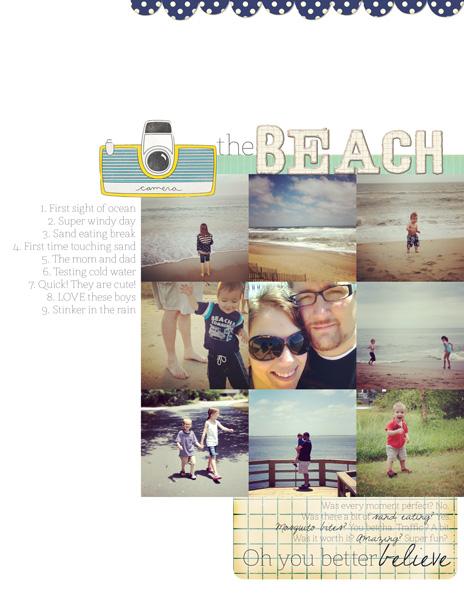 The Beach | Marie Taylor