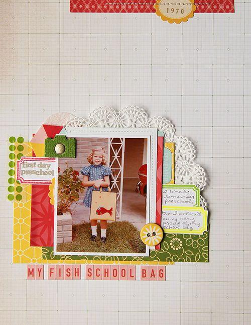 My Fish School Bag | Deb Duty