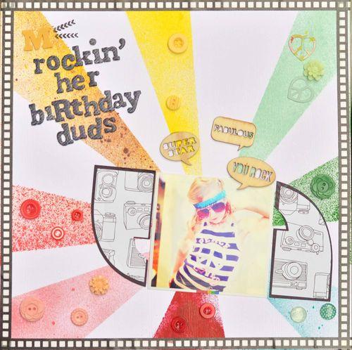 Rockin' Her Birthday Duds | Sarah Pendergrast
