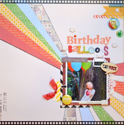 Rainbow Balloons | Sarah Pendergrast
