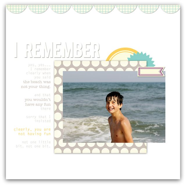 I Remember | Marnie Flores