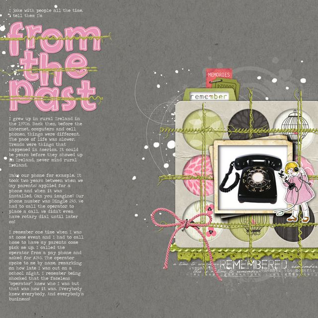 The Past | Paula Gilarde