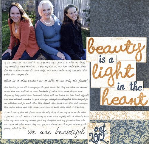 Beauty is a Light | Amy Sorensen