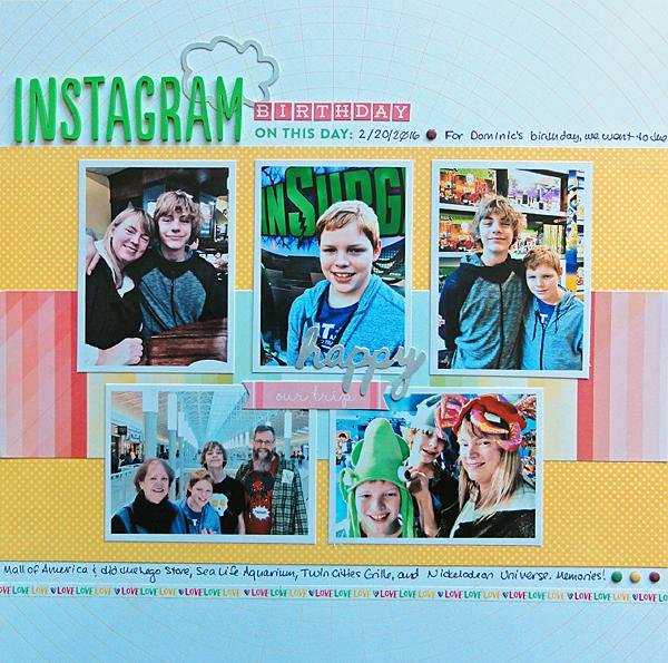 "Instagram Birthday</br><span style=""font-size: 8pt;"">by</span> Jenny Larson"