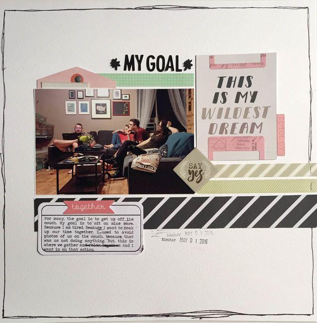 "My Goal</br><span style=""font-size: 8pt;"">by</span> Aliza Deutsch"