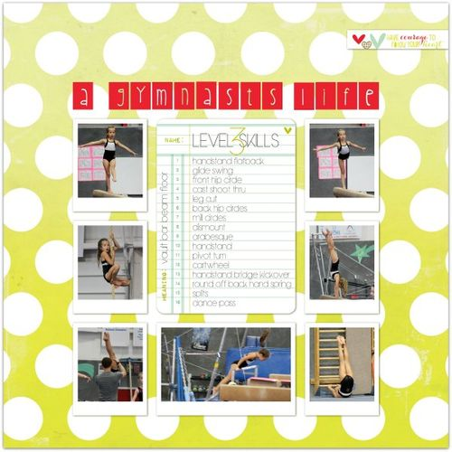 A Gymnast's Life | Marnie Flores